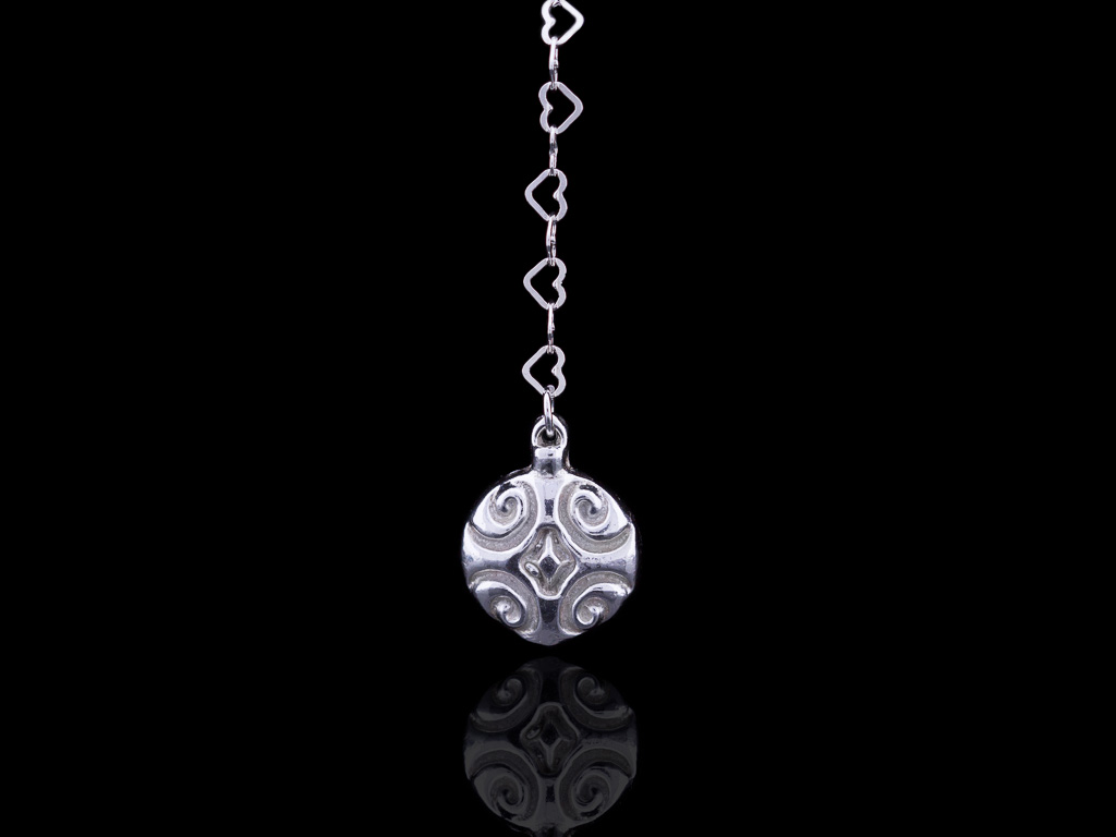 FESTIVE ORNAMENT | Bauble in solid Sterling Silver (made to order)