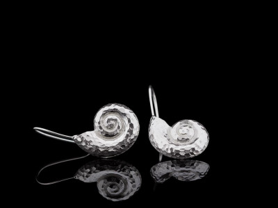 FIBONACCI SPIRAL | Earrings in Sterling Silver made to order