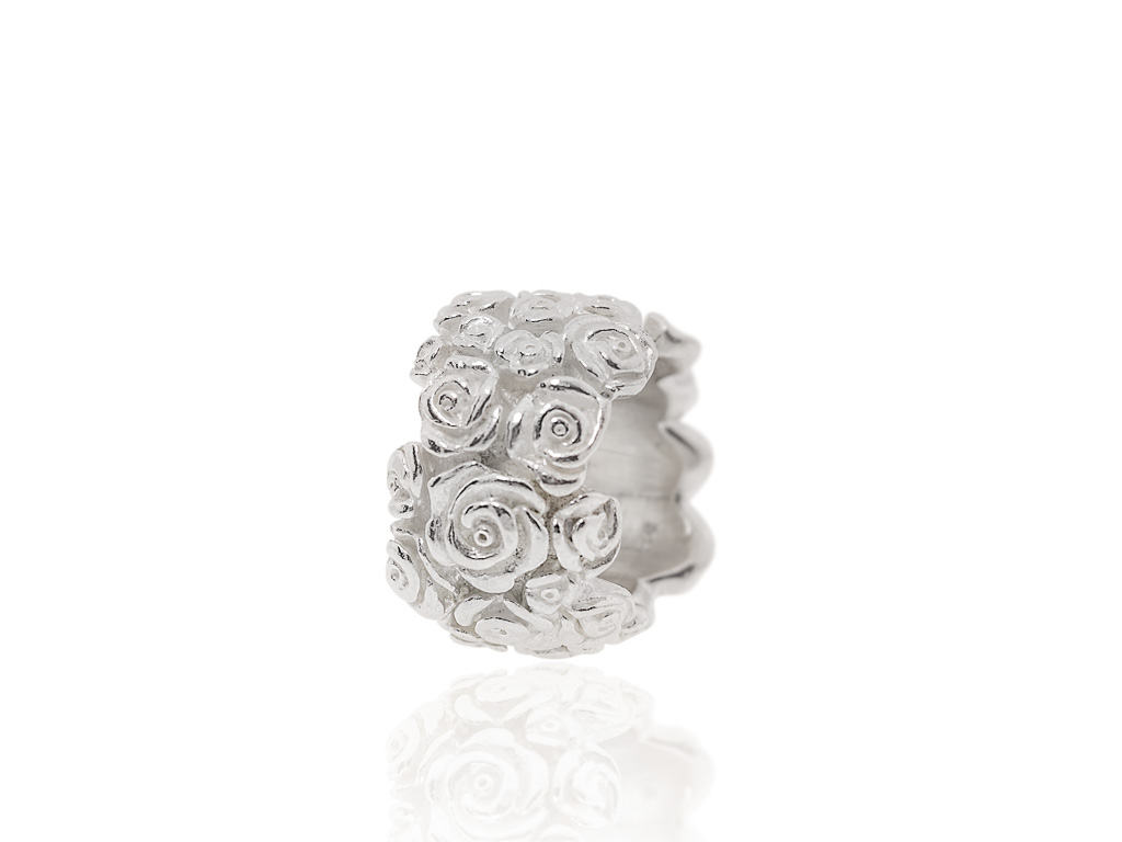 RING OF FLOWERS | Solid handcrafted Sterling Silver
