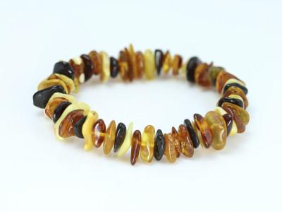 Multiple Amber - soft polished bracelet (sold out)