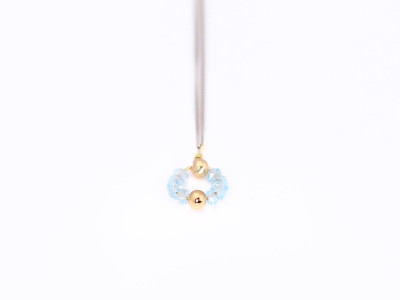 Ray Of Light | Aquamarine and White Gold necklace (sold out)