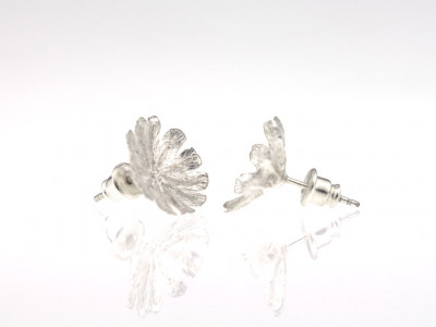 POPPYSEED HEADS | Sterling Silver earrings (made to order)