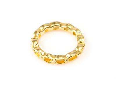 Braided Goldring -geflochtener Goldring