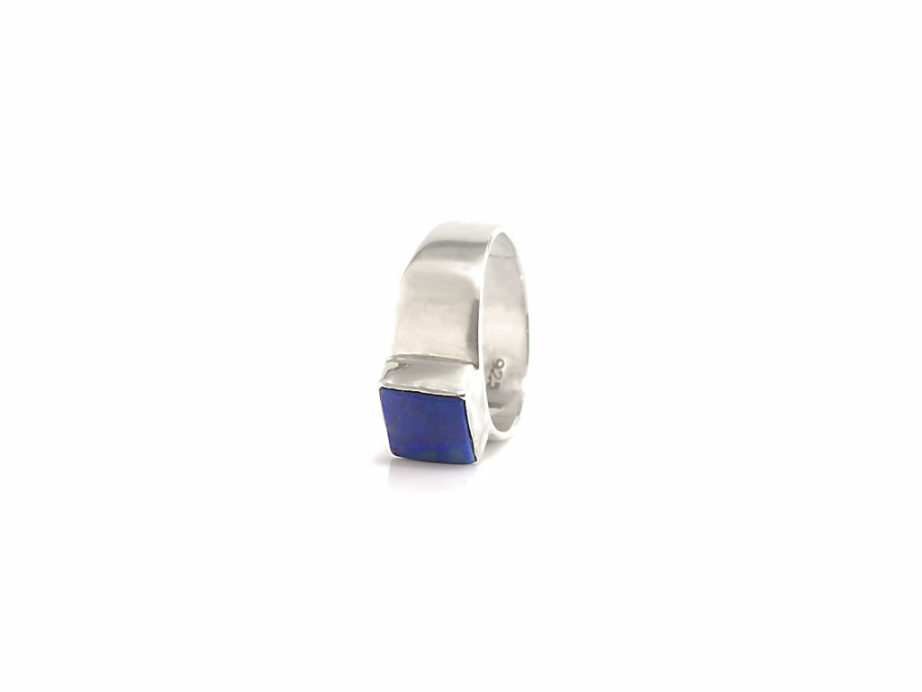 Lapis-Lazuli Squared | Ring made of Sterling Silver (Sold Out)