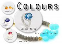 What's your favourite? | Jewellery sorted by colour