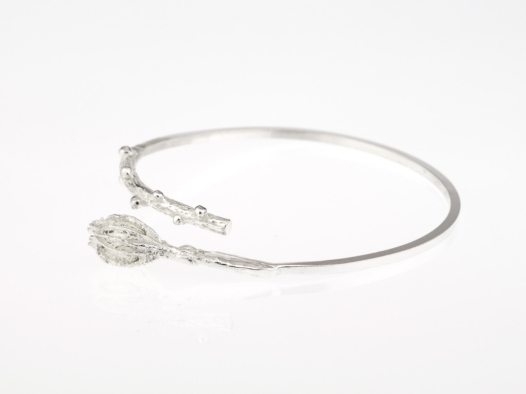 I AM ORGANIC | Bangle made of Sterling Silver (made to order)