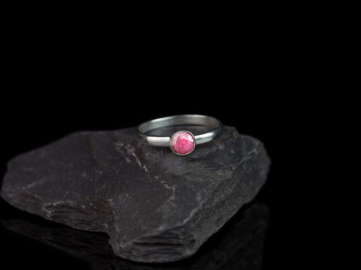 THE PRECIOUS RUBY | handcrafted Sterling Silver ring (sold out)