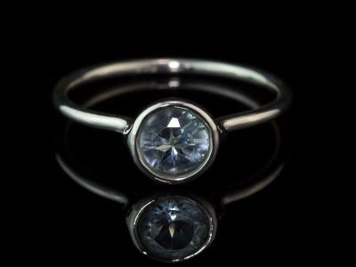 SKY CALLING | Sterling Silver ring with Sky Blue Topaz (verkauft)