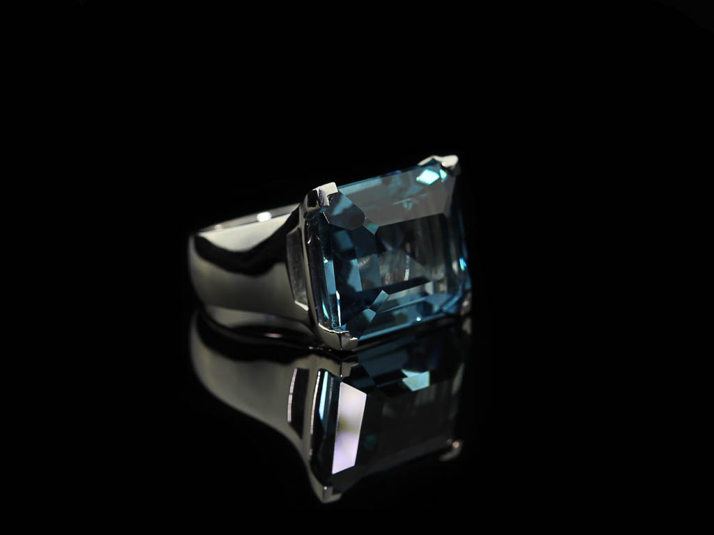 CHARMING LONDON TOPAZ | Sterling Silver ring (Sold Out)