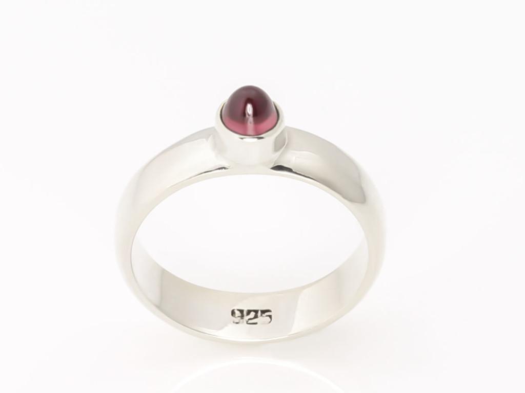 Rubellite (Tourmaline) Sterling Silver ring