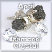 April - DIAMOND/QUARTZ