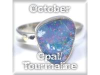 October - TOURMALINE/OPAL