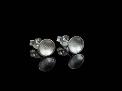 Little Frosted Cups | earstuds made of Sterling Silver (sold out)