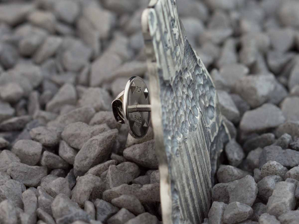 PANDA | Brooch-Pin made of Sterling Silver
