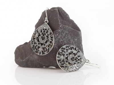 PORTUGUESE FILIGREE DROPS | Sterling Silver Earrings (sold out)