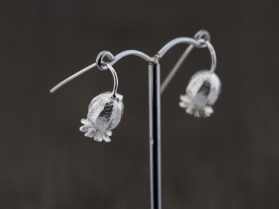 POPPYSEED PODS | Sterling Silver earrings (Sold Out)