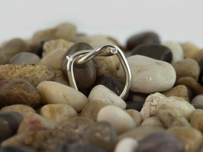 The Knot Ring | polished Sterling Silver | for the lady (Sold Out)