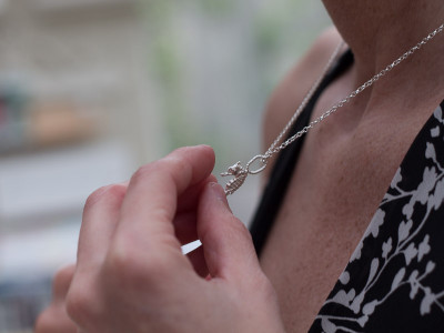 SEAHORSE | Sterling Silver necklace (made to order)