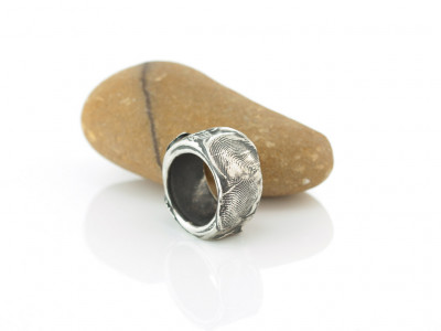 FINGERPRINT VINTAGE | Solid Sterling Silver ring (made to order)
