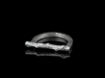ORGANIC TWIG | Ring handcrafted in Sterling Silver (sold out)