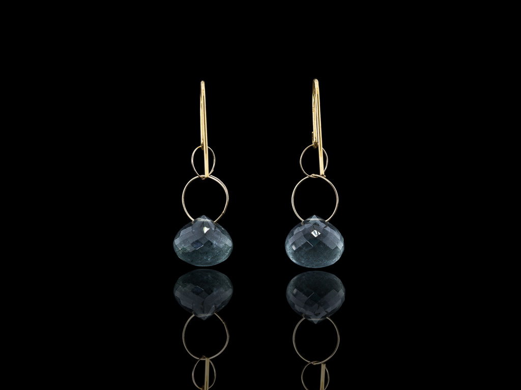 pin gold aquamarine gift ideas genuine earrings white