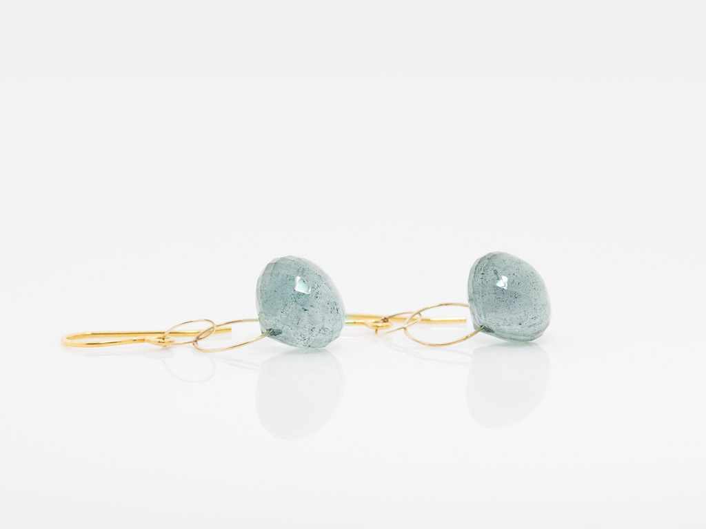 white earrings and htm gold aquamarine genuine detailed in image diamond