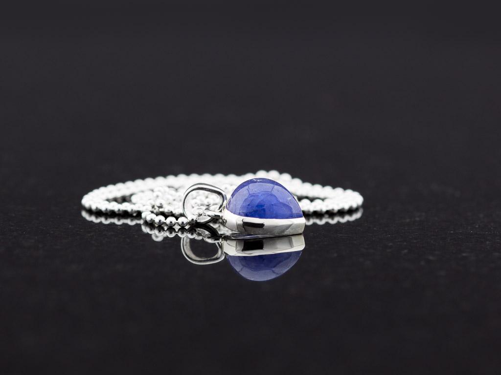 DiamondJewelryNY Double Loop Bangle Bracelet with a St Maria Goretti Charm.